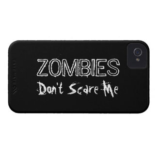 Zombies Don't Scare Me. Case-Mate iPhone 4 Case