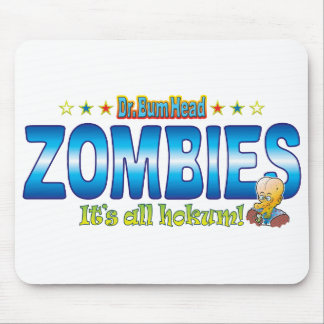 Zombies Dr. B Head Mouse Pad
