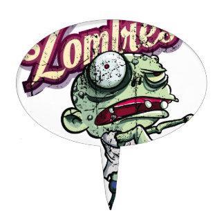 Zombies eat Brains Figura De Tarta
