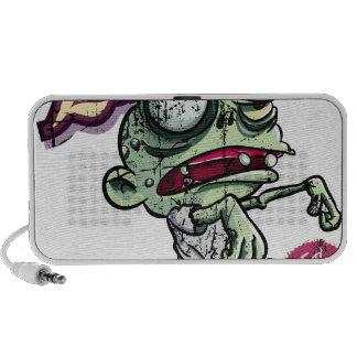 Zombies eat Brains iPod Altavoz