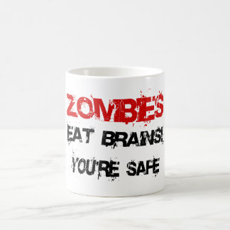 Zombies Eat Brains! Coffee Mug