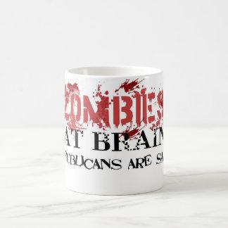 Zombies Eat Brains.... Coffee Mug
