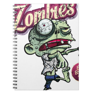 Zombies eat Brains Cuaderno