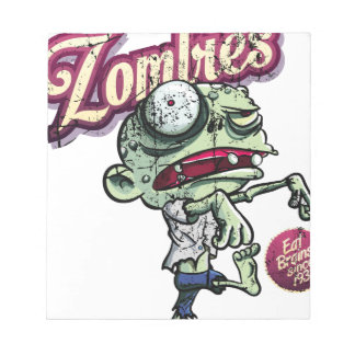 Zombies eat Brains Notepad