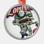 Zombies eat Brains Ornamentos Para Reyes Magos