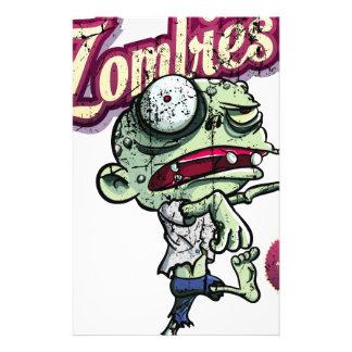 Zombies eat Brains Papeleria De Diseño