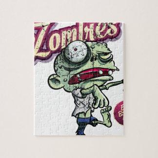 Zombies eat Brains Rompecabezas