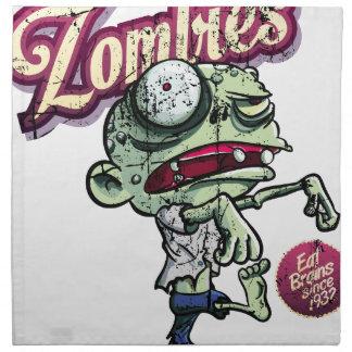 Zombies eat Brains Servilleta De Papel
