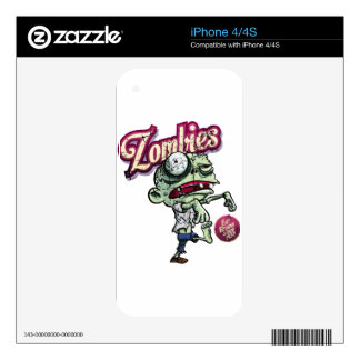 Zombies eat Brains Skins Para iPhone 4S