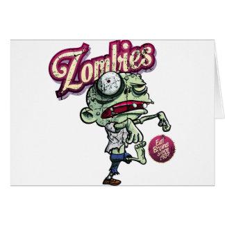 Zombies eat Brains Felicitación
