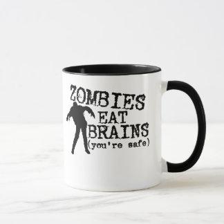 Zombies Eat Brains (you're safe) Mug