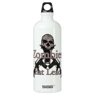 Zombies eat lead aluminum water bottle