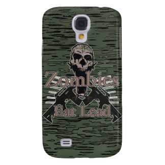 Zombies Eat Lead Galaxy S4 Cover