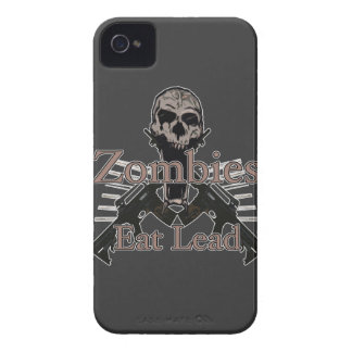 Zombies eat lead iPhone 4 Case-Mate cases
