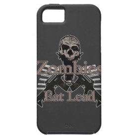 Zombies eat lead iPhone 5 case