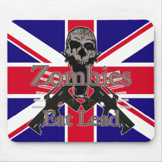 Zombies Eat Lead Mouse Pad
