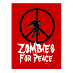 Zombies For Peace Postcard