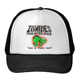 Zombies From Outer Space! Trucker Hats