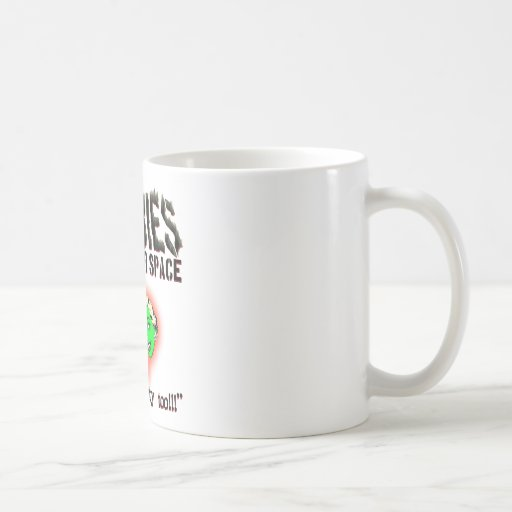 Zombies From Outer Space! Mug