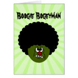 Zombies Go Boogie at the Disco on Halloween Stationery Note Card