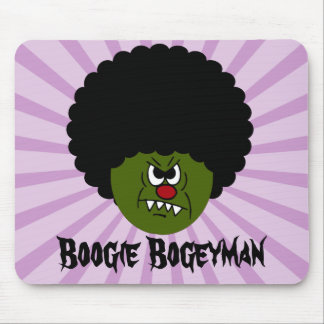 Zombies Go Boogie at the Disco on Halloween Mouse Pad