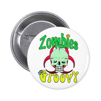 Zombies Groovy 70s 1 Pins