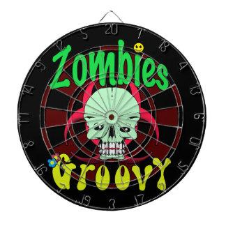 Zombies Groovy 70s 1 Dart Boards