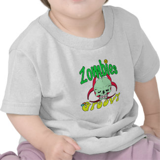 Zombies Groovy 70s 1 T-shirt