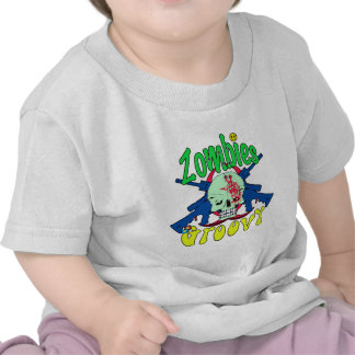 Zombies Groovy 70s T Shirt