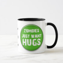 zombies Halloween goodies Mug