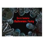 Zombies Halloween Party Invitation