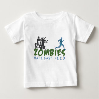 Zombies Hat Fastfoo Baby T-Shirt