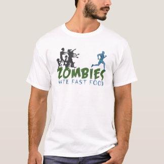 Zombies Hat Fastfoo T-Shirt