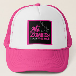 Zombies Hate Fast Food: Baseball Cap