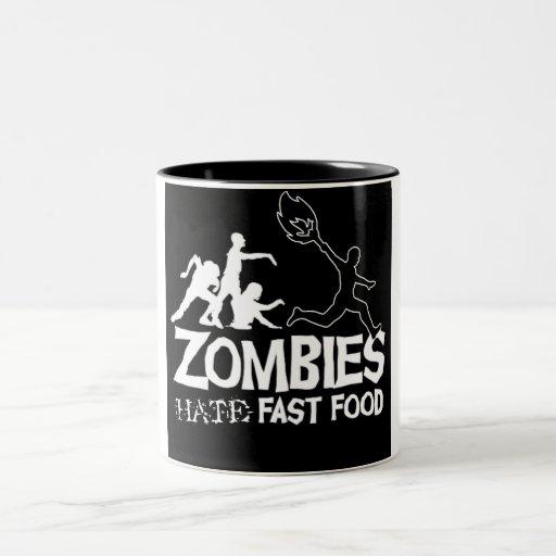 Zombies Hate Fast Food: Coffee Mug