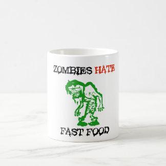 Zombies Hate Fast Food Coffee Mug