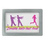 Zombies Hate Fast Food (Girls) Belt Buckles