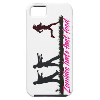 Zombies Hate Fast Food (Girls) iPhone SE/5/5s Case