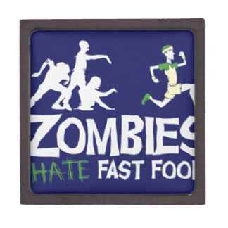 Zombies HATE Fast Food Jewelry Box