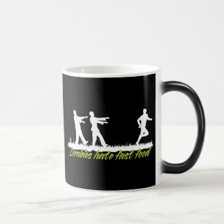Zombies Hate Fast Food 11 Oz Magic Heat Color-Changing Coffee Mug