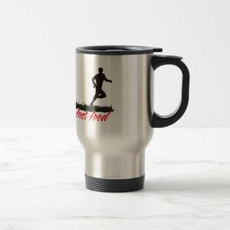 Zombies Hate Fast Food 15 Oz Stainless Steel Travel Mug