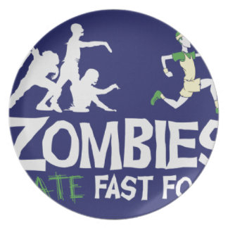 Zombies HATE Fast Food Plate