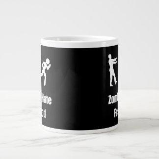 Zombies Hate Fast Food 20 Oz Large Ceramic Coffee Mug