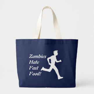 Zombies Hate Fast Food! Tote Bag