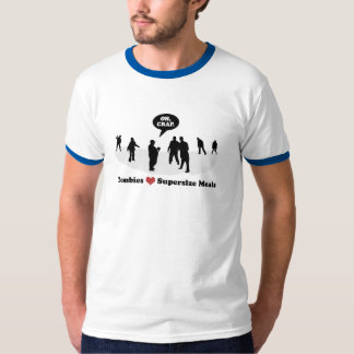 Zombies Heart (Love) Supersize meals T-Shirt