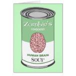 Zombie's Human Brain Soup Card