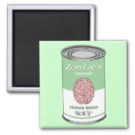 Zombie's Human Brain Soup Magnet