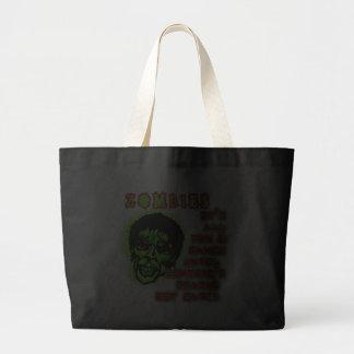 Zombies Humor Canvas Bag