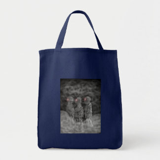 zombies in the mist tote bag