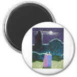 Zombies in the Moonlight Refrigerator Magnets